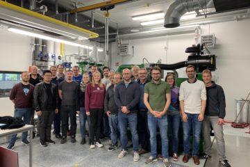 Neues Forschungs-BHKW nimmt Betrieb auf