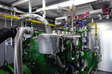 Haßfurt nimmt Wasserstoff-Blockheizkraftwerk erfolgreich in Betrieb