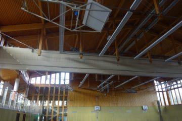 Umrüstung der Sporthallenbeleuchtung in der Turnhalle der Stadt Hirschau im Rahmen der Umsetzungsbegleitung AOVE