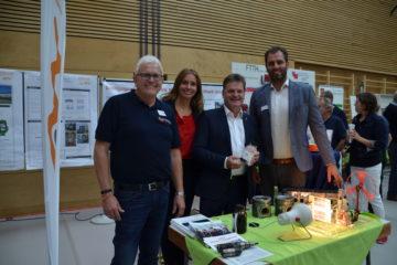 Kompetenzzentrum Kraft-Wärme-Kopplung: Teilnahme am Tag der Umwelt, Nachhaltigkeit und Energie in Wendelstein