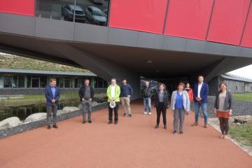 Landkreise und Städte zu Besuch im Müllkraftwerk Schwandorf